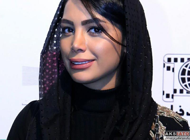 بازیگران بازیگران زن ایرانی  آیدا جعفری در اکران مردمی فیلم ثبت با سند در پردیس ملت