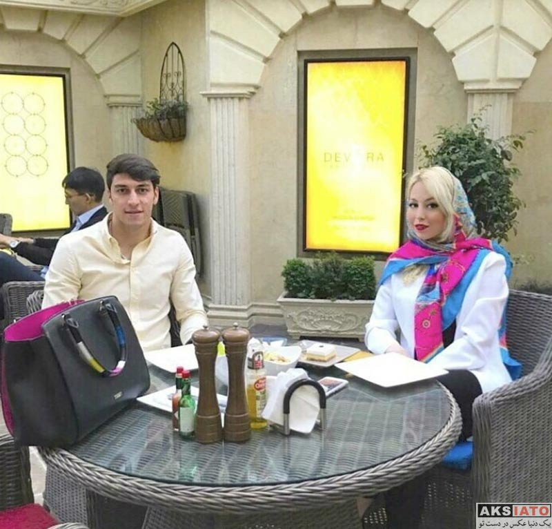 بازیگران بازیگران زن ایرانی  عکس های محمدرضا اخباری و همسرش در دی ماه 96