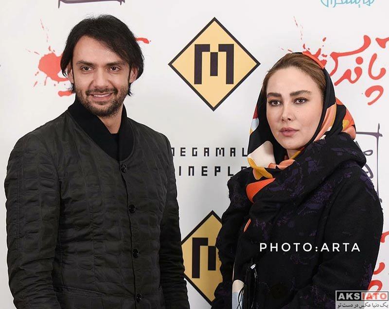 بازیگران بازیگران مرد ایرانی  امیرعلی دانایی در اکران مردمی فیلم آپاندیس (3 عکس)
