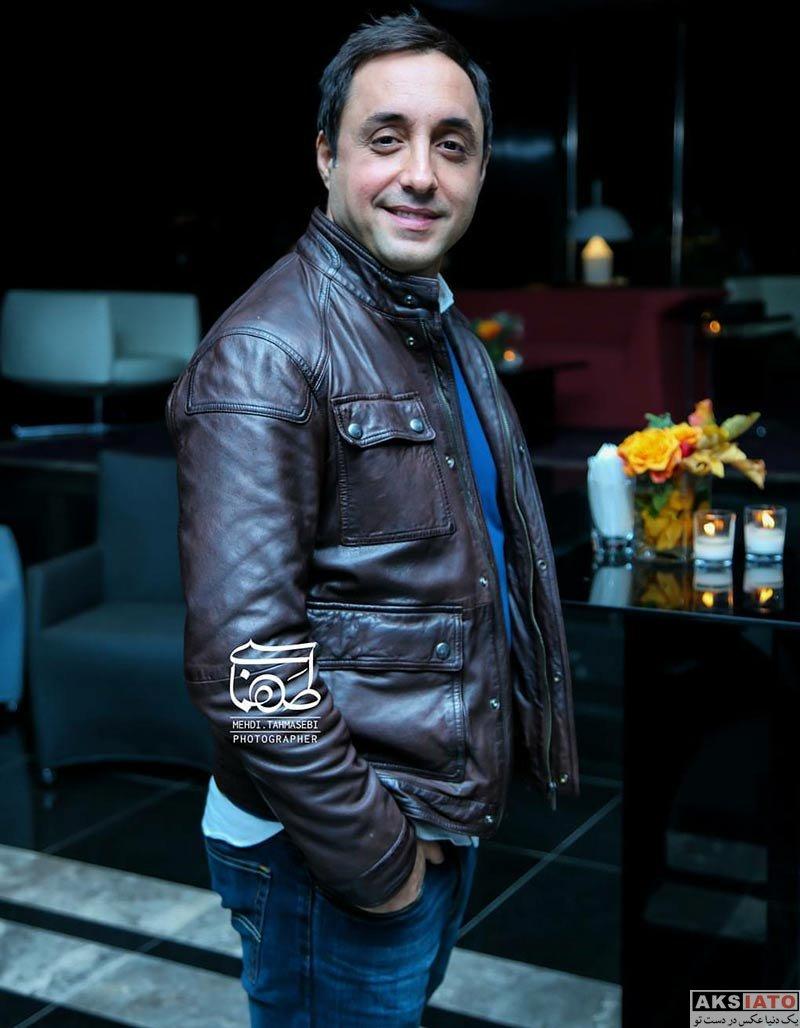 بازیگران بازیگران مرد ایرانی  امیرحسین رستمی در اکران خصوصی فیلم خانه کاغذی (3 عکس)