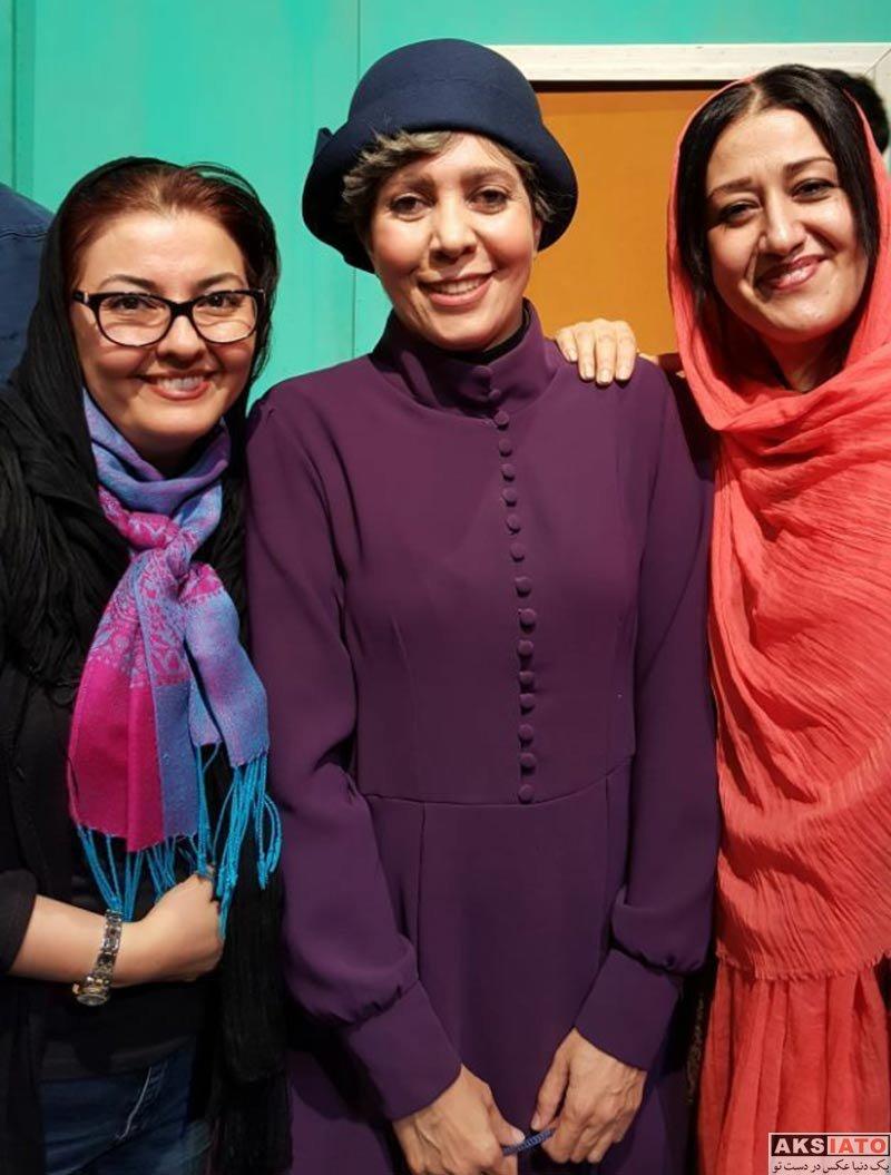 بازیگران بازیگران زن ایرانی  عکس های آناهیتا همتی در آذر ماه 96