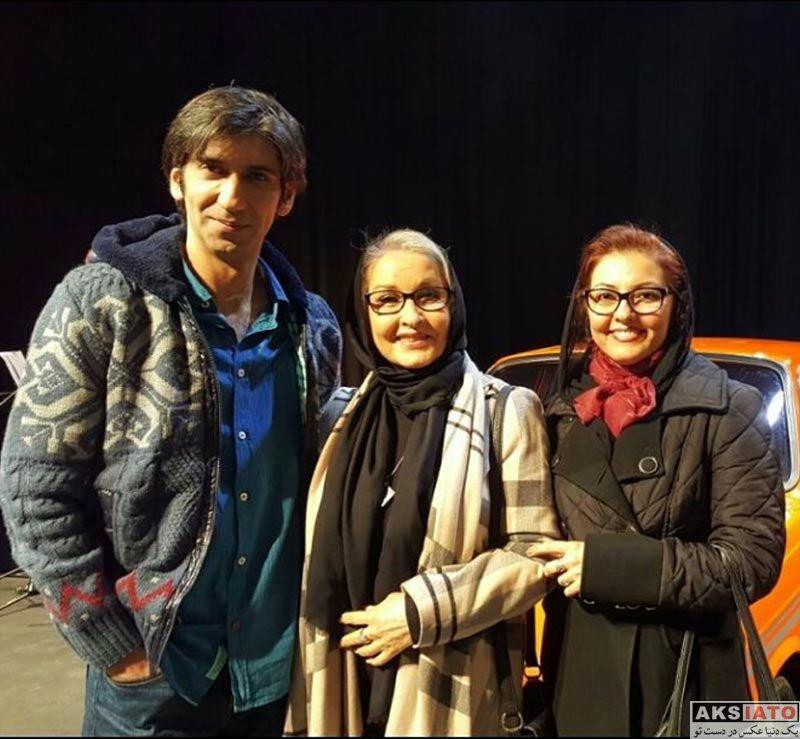 بازیگران بازیگران زن ایرانی  آناهیتا همتی در اجرای نمایش ترانه های قدیمی (۳ عکس)