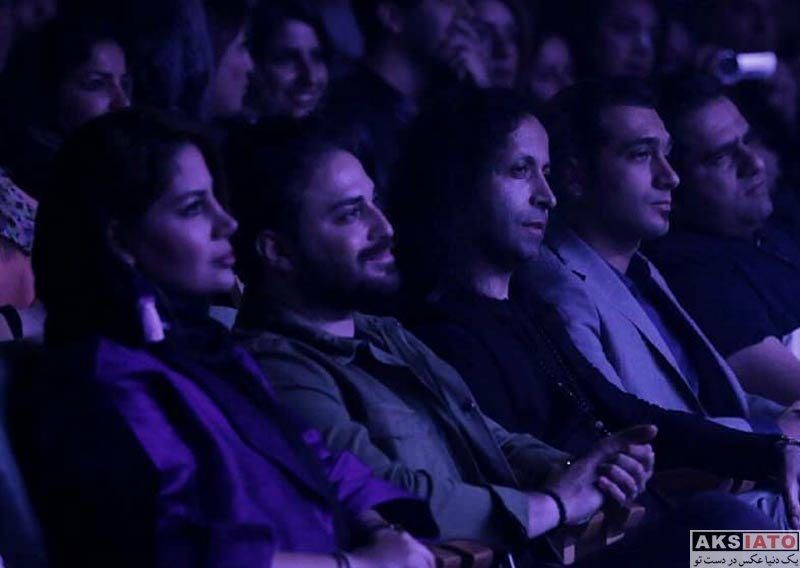 خوانندگان  بابک جهانبخش و همسرش در کنسرت معین راهبر (3 عکس)