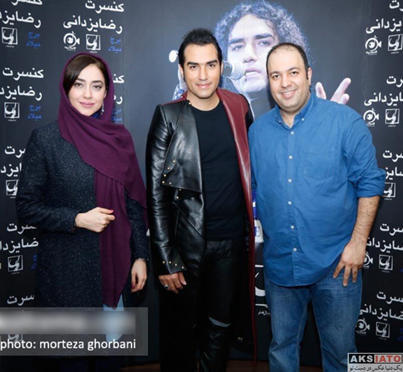بازیگران بازیگران زن ایرانی  بهاره کیان افشار در کنسرت رضا یزدانی (۳ عکس)