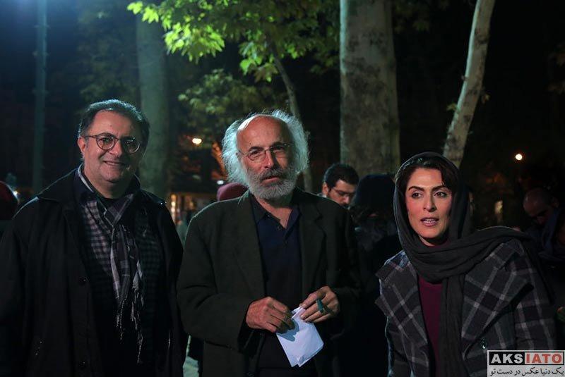 بازیگران بازیگران زن ایرانی  بهناز جعفری در افتتاحیه فیلم بیدار شو آرزو (4 عکس)