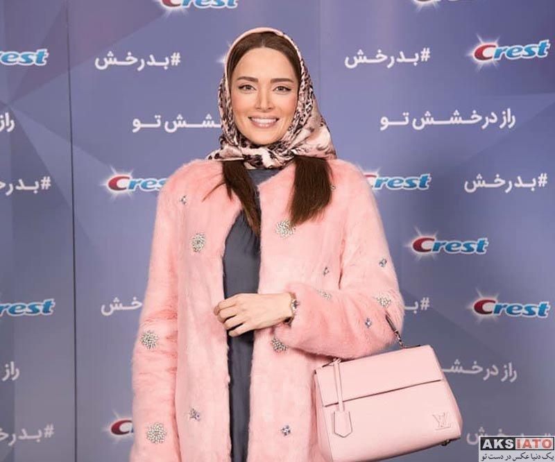 بازیگران بازیگران زن ایرانی  بهنوش طباطبایی در رویداد مخصولات کرست در ایران (6 عکس)
