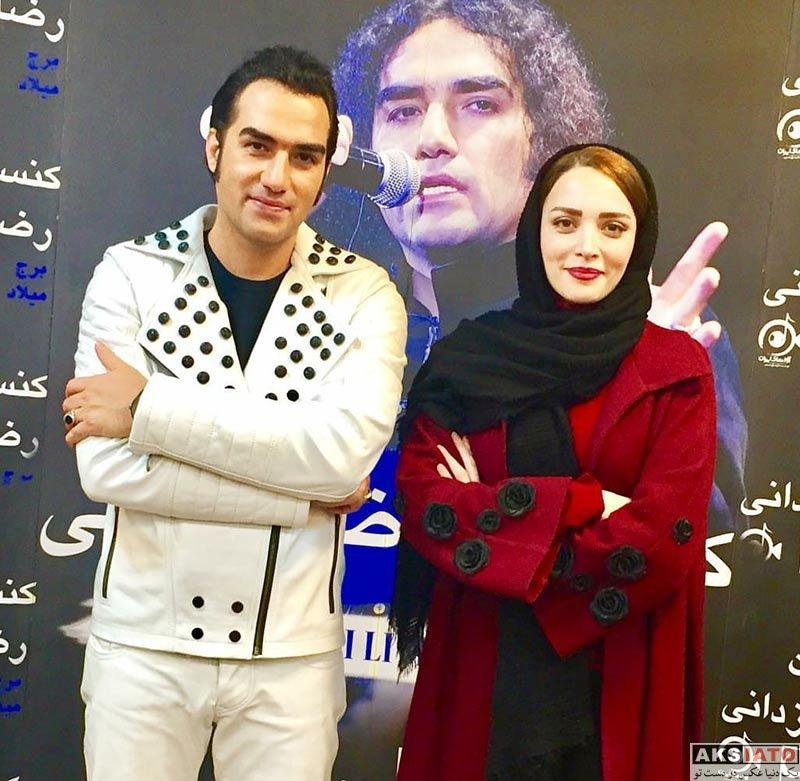 بازیگران بازیگران زن ایرانی  بهنوش طباطبایی در کنسرت رضا یزدانی (2 عکس)