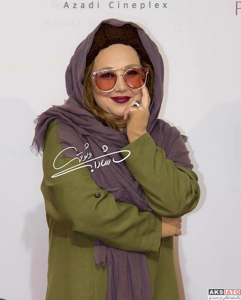 بازیگران بازیگران زن ایرانی  بهنوش بختیاری در اکران مردمی فیلم حریم شخصی (5 عکس)