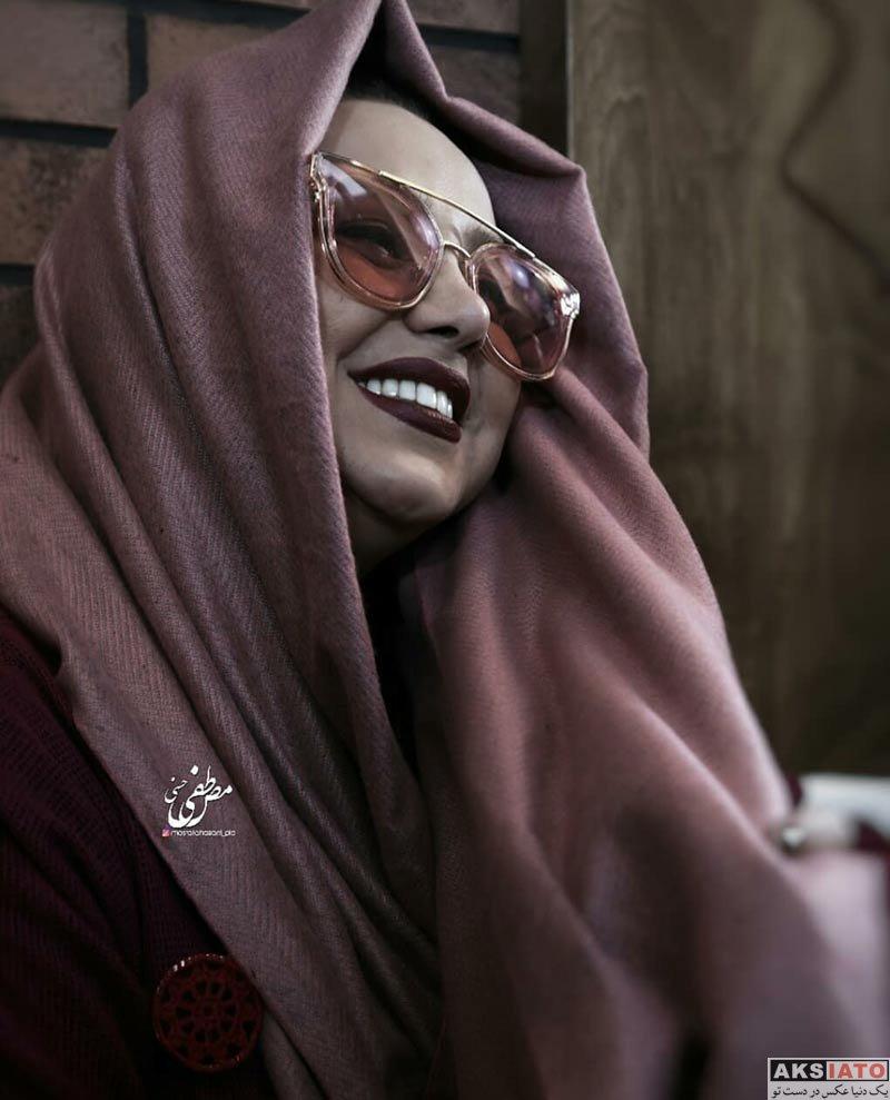 بازیگران بازیگران زن ایرانی  بهنوش بختیاری در افتتاحیه کافه چیمنی (4 عکس)