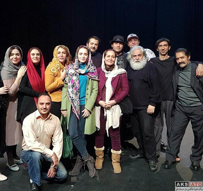 بازیگران بازیگران زن ایرانی  بهنوش طباطبایی در اجرای نمایش ترانه های قدیمی (3 عکس)
