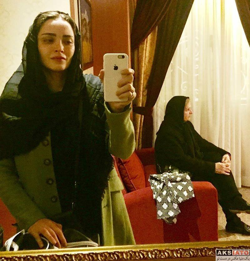 بازیگران بازیگران زن ایرانی  عکس های بهنوش طباطبایی در آذر ماه 96 (6 تصویر)