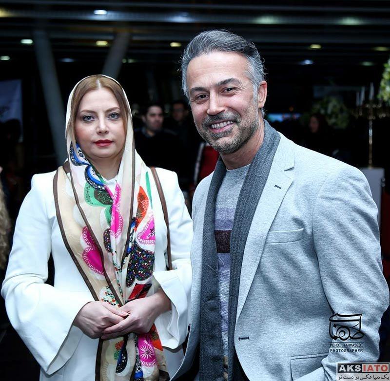 خانوادگی  دانیال حکیمی و همسرش در اکران خصوصی فیلم حریم شخصی