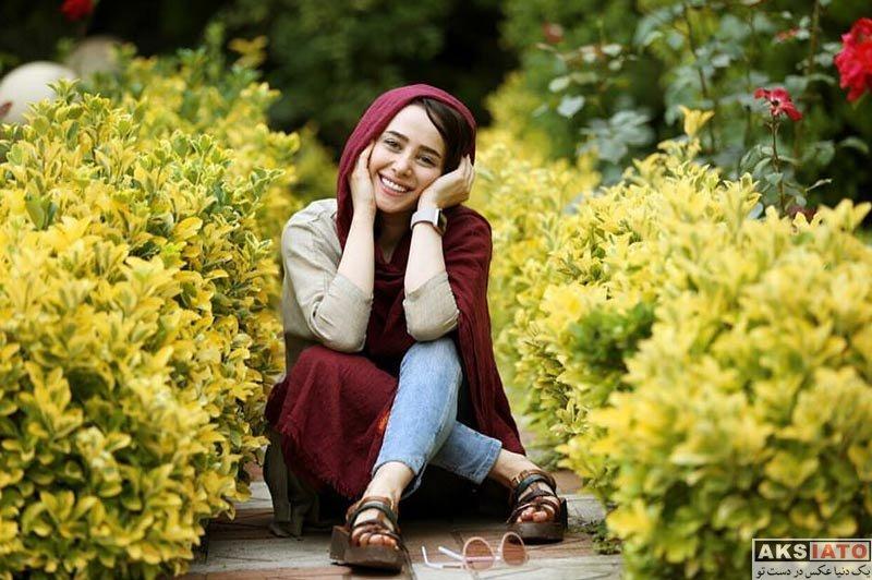 بازیگران بازیگران زن ایرانی  عکس های الناز حبیبی در آذر ماه 96 (8 تصویر)