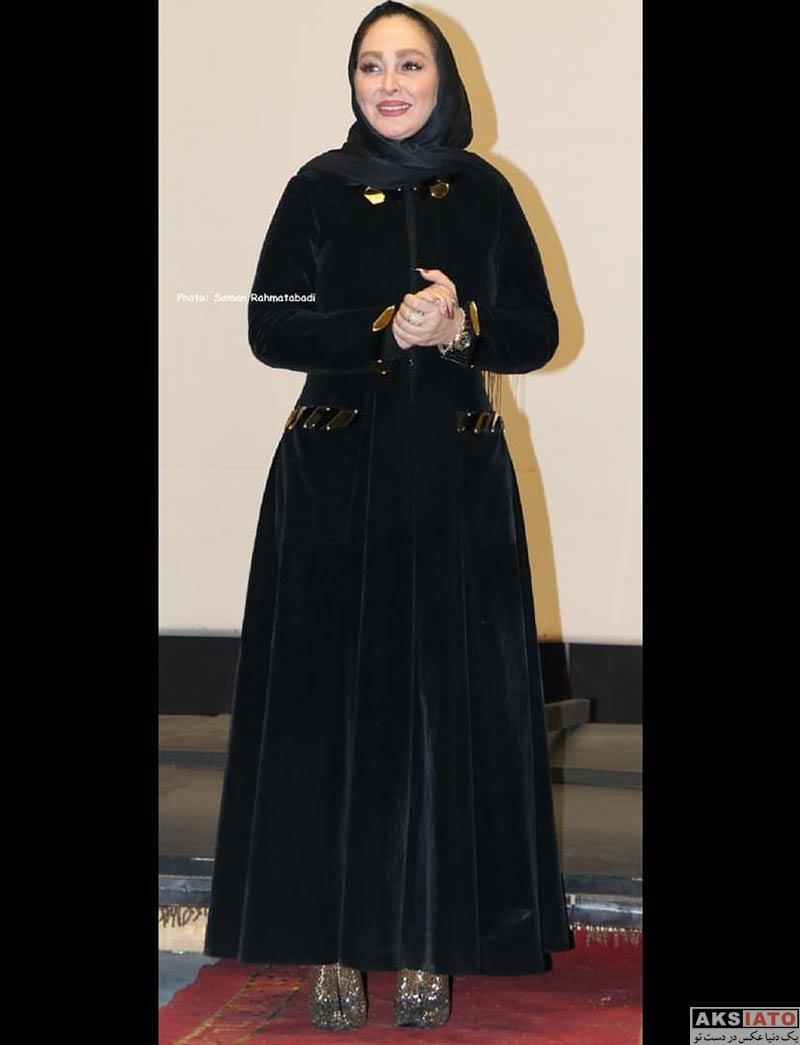 بازیگران بازیگران زن ایرانی  الهام حمیدی در اکران مردمی فیلم ثبت با سند برابر است (5 عکس)