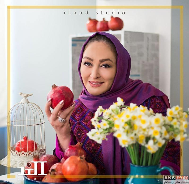 بازیگران بازیگران زن ایرانی  عکس های شب یلدایی الهام حمیدی در دی 96