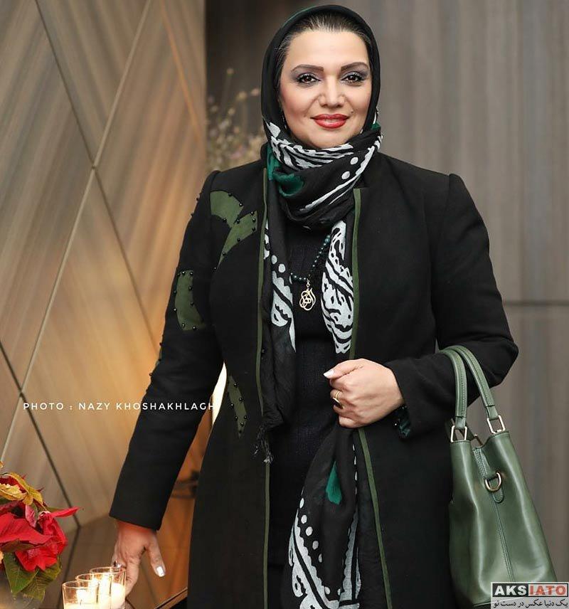 بازیگران بازیگران زن ایرانی  الهام پاوه نژاد در اکران خصوصی فیلم خانه کاغذی (2 عکس)
