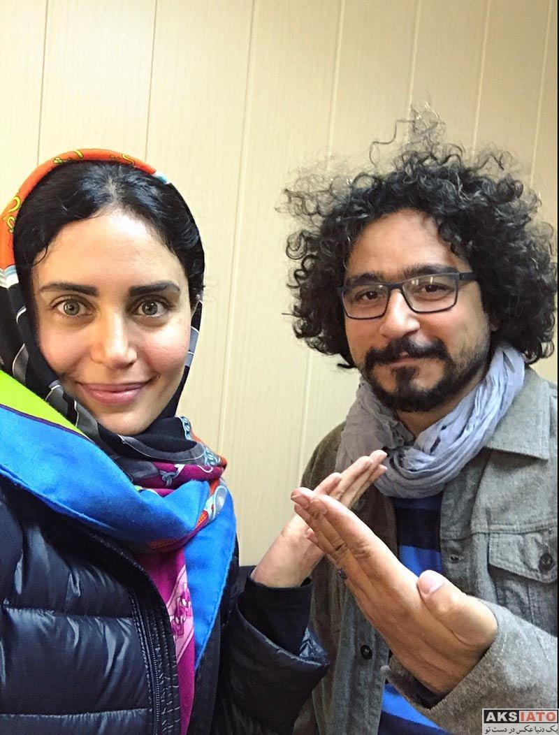 بازیگران بازیگران زن ایرانی  عکس های الناز شاکردوست در آذر ماه 96 (12 تصویر)