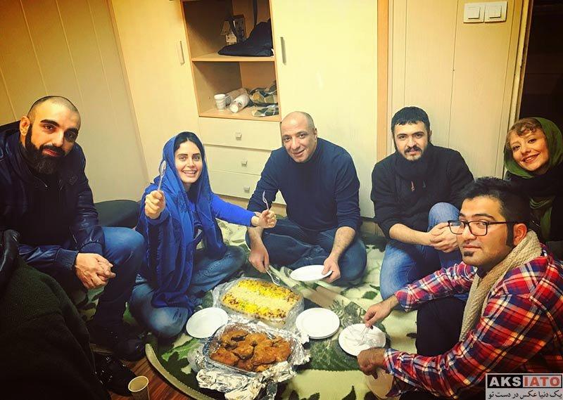 بازیگران بازیگران زن ایرانی  الناز شاکردوست و اعضای گروه نمایش گم و گور (6 عکس)