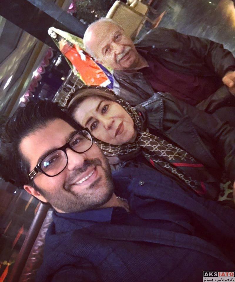 خوانندگان  دیدار حامد همایون با مادر و پدرش در هتل