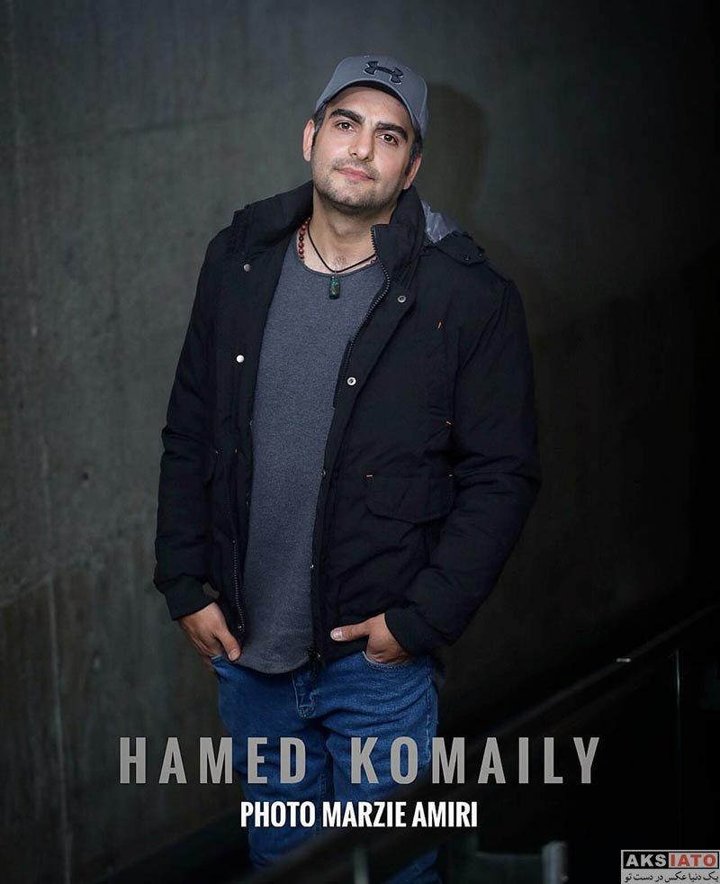 بازیگران بازیگران مرد ایرانی  حامد کمیلی در اکران مردمی مستند صفر تا سکو (4 عکس)