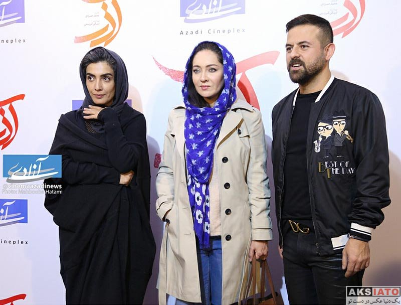 بازیگران بازیگران مرد ایرانی  هومن سیدی در اکران مردمی فیلم آذر (5 عکس)