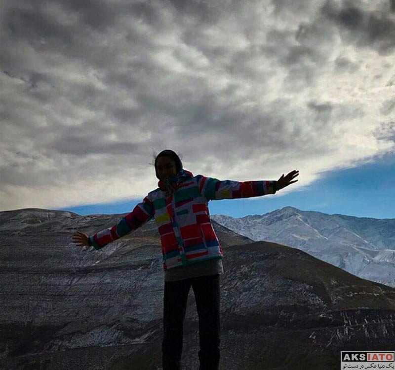 ورزشکاران ورزشکاران زن  کوهنوردی کیمیا علیزاده در آذرماه 96 (2 عکس)