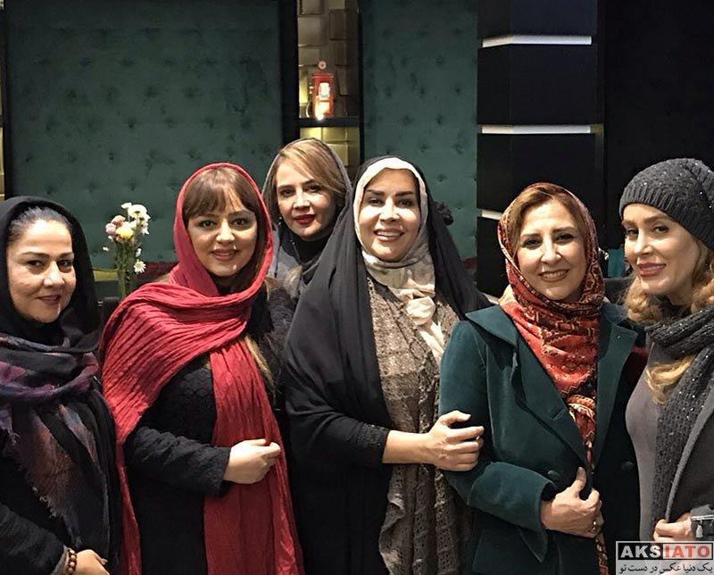بازیگران بازیگران زن ایرانی  لیلا برخورداری هنرمندان خانم در کافه رستوران نیل (2 عکس)