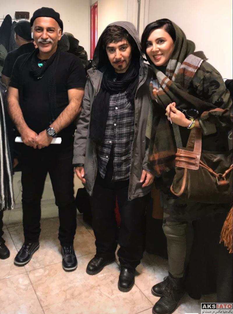 بازیگران بازیگران زن ایرانی  لیلا بلوکات در اجرای نمایش آبی مایل به صورتی (2 عکس)