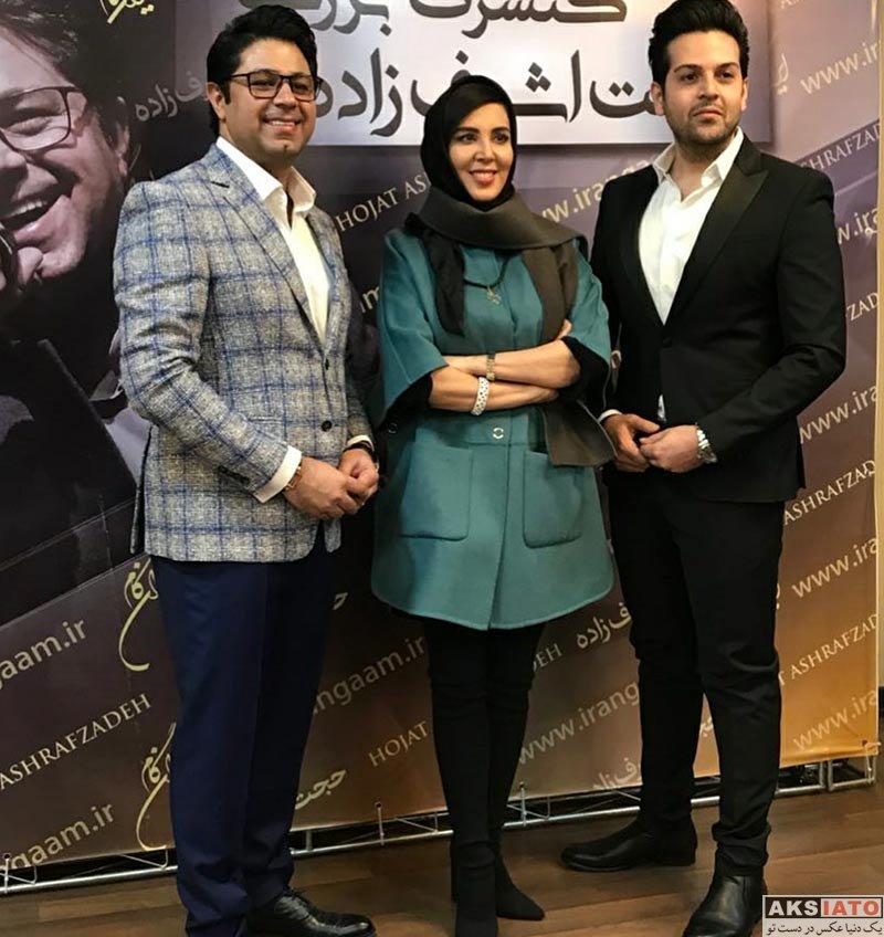 بازیگران بازیگران زن ایرانی  لیلا بلوکات در کنسرت حجت اشرف زاده (4 عکس)