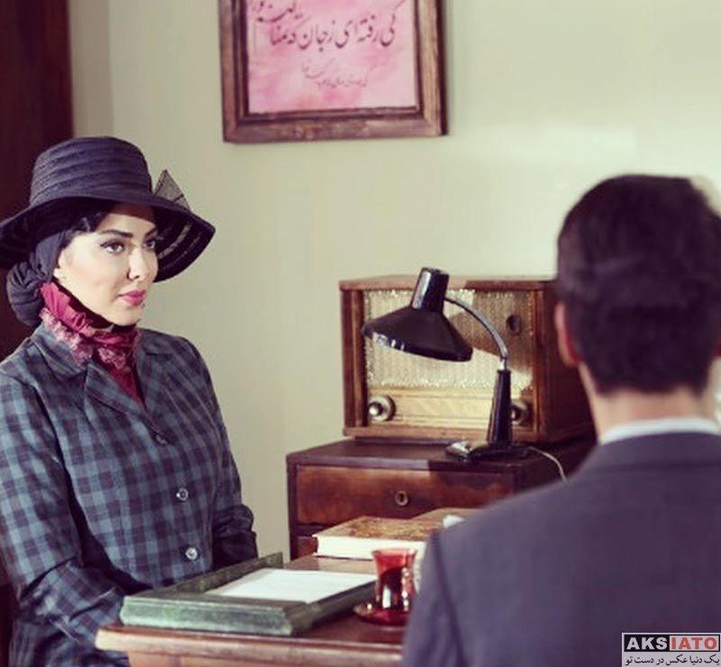 بازیگران بازیگران زن ایرانی عگس های لیلا اوتادی در سریال آشوب (4 عکس)