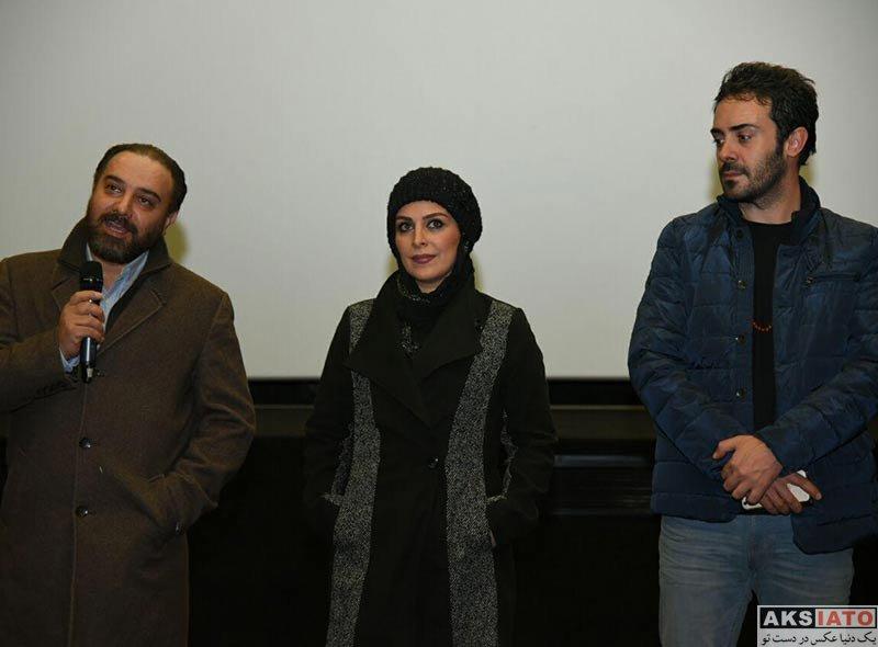 بازیگران بازیگران زن ایرانی  ماه چهره خلیلی در اکران مردمی فیلم اشنوگل (4 عکس)