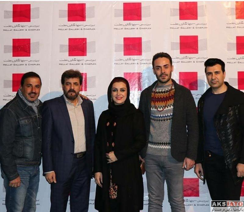 بازیگران بازیگران زن ایرانی  ماه چهره خلیلی در اکران خصوصی فیلم اشنوگل در پردیس ملت(6 عکس)