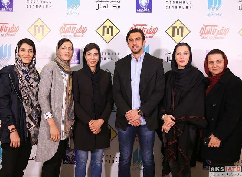 ورزشکاران ورزشکاران مرد  مهدی رحمتی در اکران مردمی مستند صفر تا سکو (3 عکس)