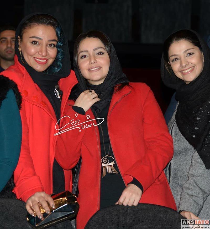 بازیگران بازیگران زن ایرانی  مه لقا باقری در اکران خصوصی فیلم آینه بغل (4 عکس)