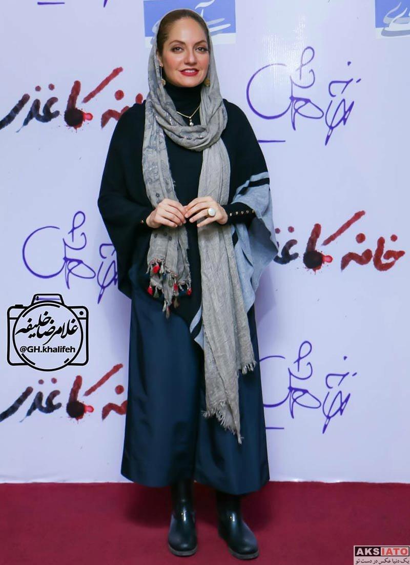 بازیگران بازیگران زن ایرانی  مهناز افشار در در اکران مردمی فیلم خانه کاغذی (6 عکس)
