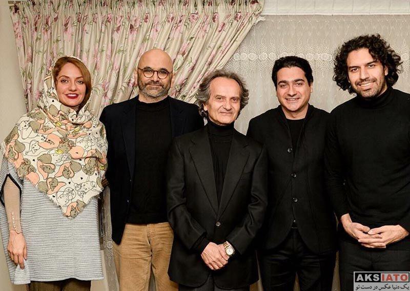 بازیگران بازیگران زن ایرانی  مهناز افشار و همسرش در کنسرت ایران من (3 عکس)