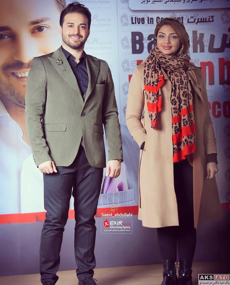 بازیگران بازیگران زن ایرانی  مهسا کامیابی در کنسرت بابک جهانبخش (2 عکس)