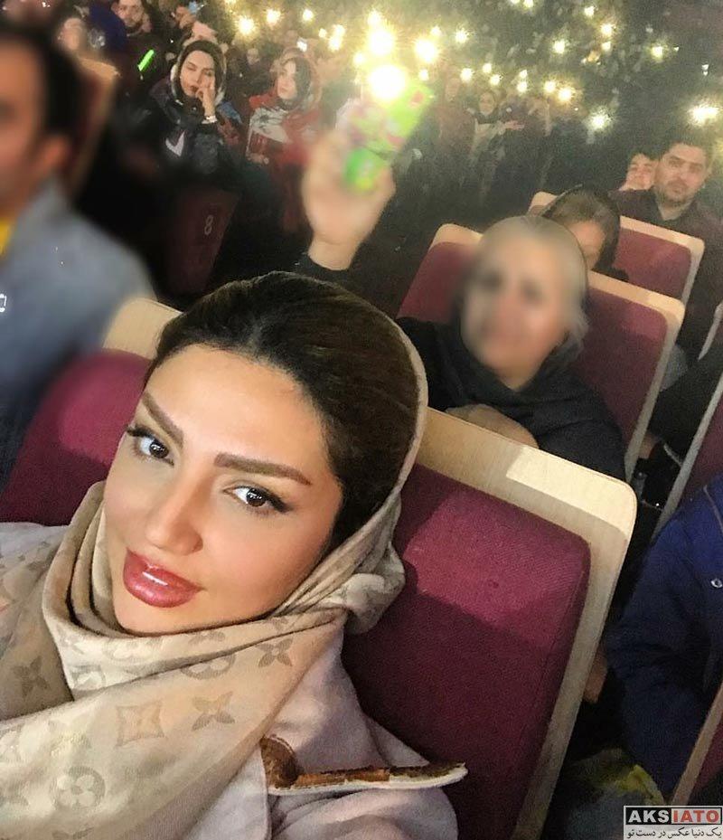 بازیگران بازیگران زن ایرانی  مهسا کامیابی در کنسرت سینا شعنابخانی (2 عکس)