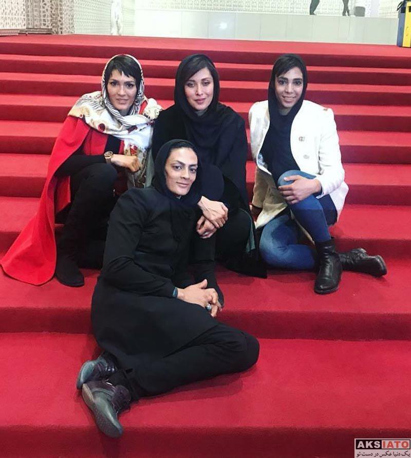 بازیگران بازیگران زن ایرانی  مهتاب کرامتی در دومین اکران خصوصی صفر تا سکو (۵ عکس)