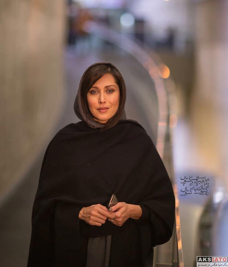بازیگران بازیگران زن ایرانی  مهتاب کرامتی در اکران مردمی مستند صفر تا سکو در پردیس ملت
