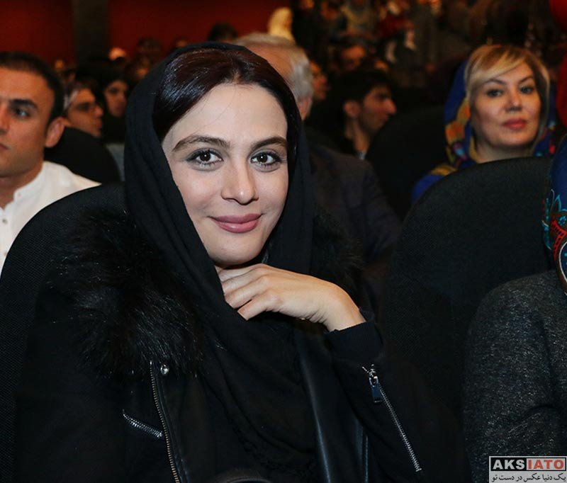 بازیگران بازیگران زن ایرانی  مارال فرجاد در اکران خصوصی فیلم آینه بغل (3 عکس)