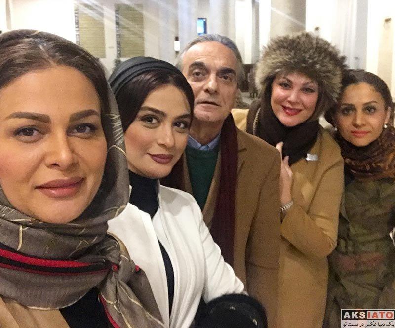 بازیگران بازیگران زن ایرانی  مارال فرجاد در کنسرت بانوان نوازنده ايرانى در اوکراین (4 عکس)