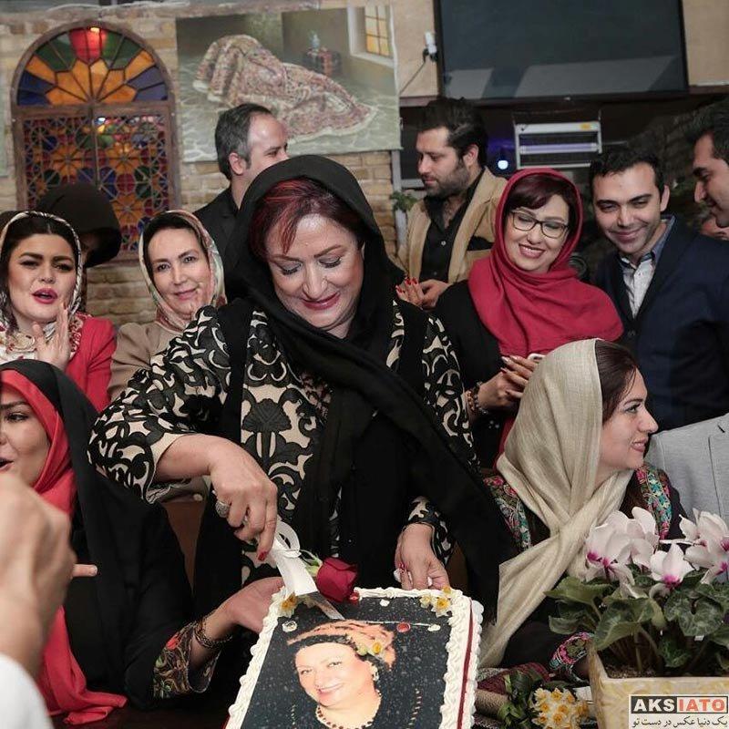بازیگران بازیگران زن ایرانی جشن تولد ها  جشن تولد مریم امیرجلالی با حضور هنرمندان (4 عکس)