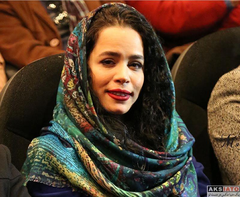 بازیگران بازیگران زن ایرانی  ملیکا شریفی نیا در اکران خصوصی فیلم آینه بغل (6 عکس)