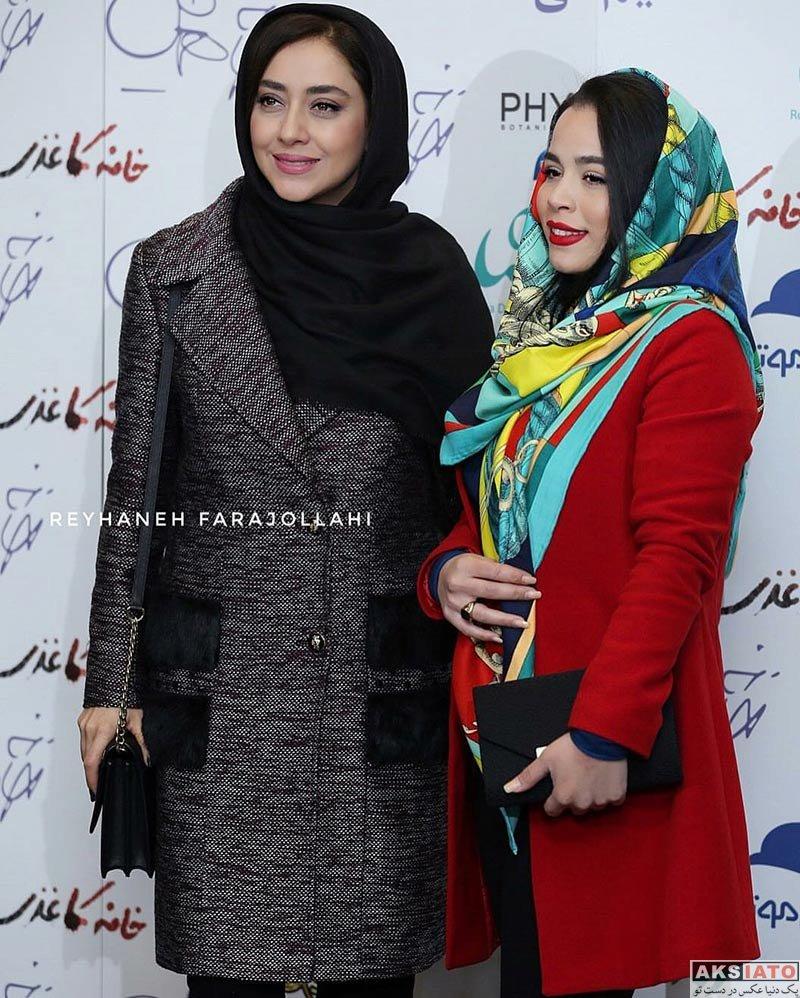 بازیگران بازیگران زن ایرانی  ملیکا شریفی نیا در اکران خصوصی فیلم خانه کاغذی (4 عکس)