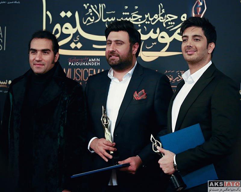 خوانندگان  محمد علیزاده در چهارمین جشن سالانه موسیقی ما (۳ عکس)