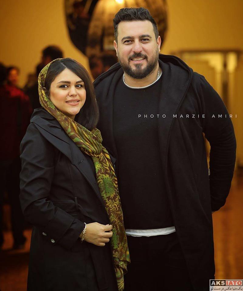 بازیگران خانوادگی  محسن کیایی و همسرش در تئاتر 10 سال تنهایی
