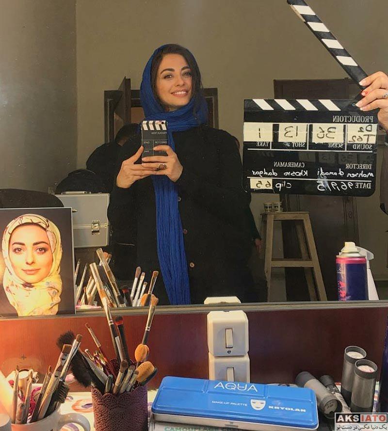 بازیگران بازیگران زن ایرانی  عکس های نفیسه روشن در آذر ماه 96 (7 تصویر)