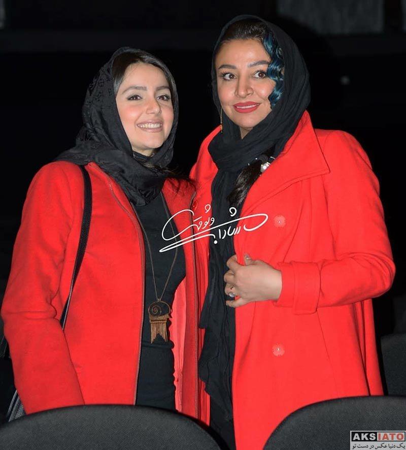 بازیگران بازیگران زن ایرانی  نازنین بیاتی در اکران خصوصی فیلم آینه بغل (۶ عکس)