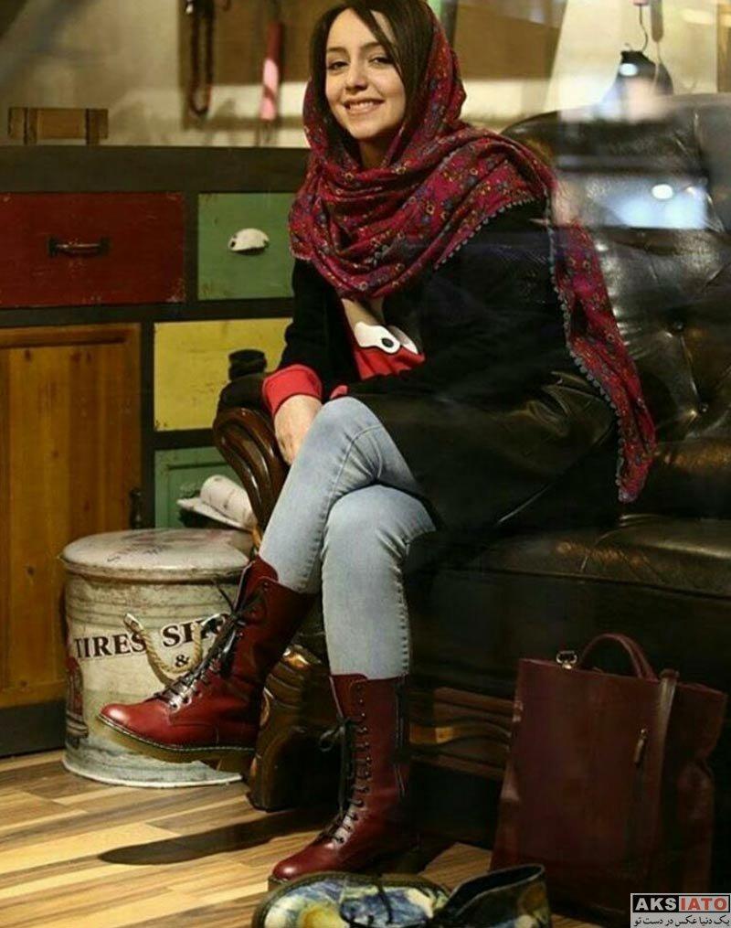 بازیگران بازیگران زن ایرانی  نازنین بیاتی در فروشگاه کفش ویزلند (4 عکس)